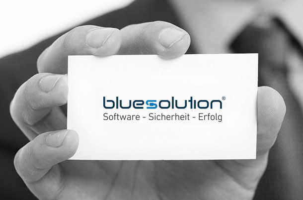 blue:solution
